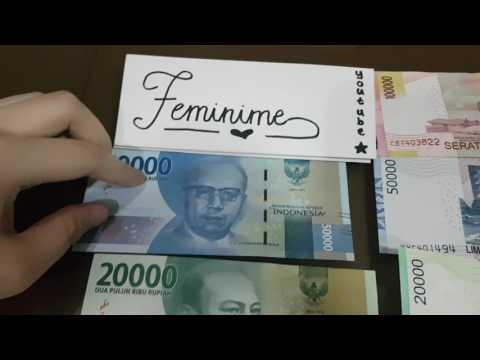 INDONESIAN PAPER MONEY: OLD Vs NEW DESIGN!!