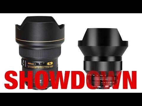 Nikon 14-24mm vs Zeiss 15mm - 2.8 Showdown