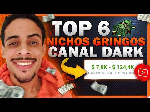 6 Nichos de Canal Dark GRINGO p/ Fazer Canal Dark e Ganhar Dinheiro sem Aparecer (Nicho Canal Dark)