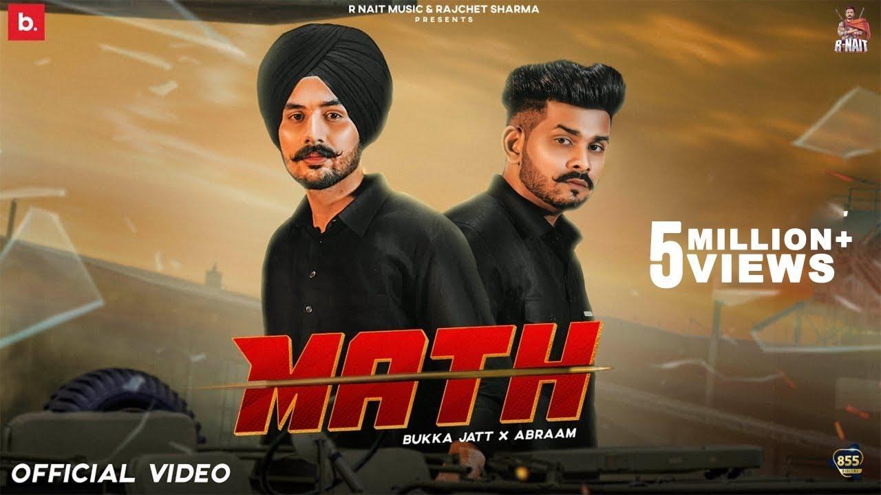 Math Lyrics by  Bukka Jatt & Abraam