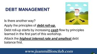 Workshop 1 Debt Management