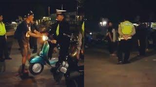 Sedang Asyik Kopdar, Komunitas Vespa Ini Dirazia Polisi