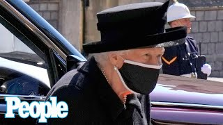 The Queen Breaks with Royal Mourning Tradition After Death of Prince Philip | PEOPLE