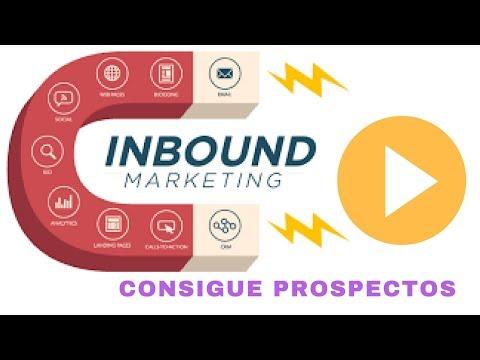 Marketing inbound para empresas, captación de leads - YouTube