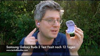 Samsung Galaxy Buds 2 Test Fazit nach 12 Tagen