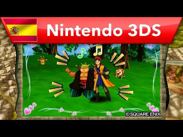 Dragon Quest VIII: El periplo del Rey Maldito - Tráiler de destacados (Nintendo 3DS)