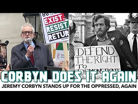 Jeremy Corbyn Stands Up For The Oppressed, Again