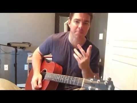 Who Am I - Casting Crowns (Beginner Guitar Lesson) (Matt McCoy)