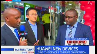 Huawei New Devices: Using the devices to drive competition