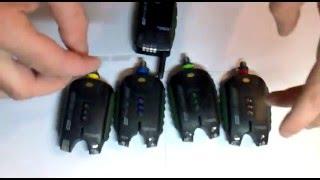 Сигнализатор поклевки radio carp academy sensor vtp