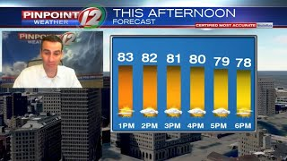 WEATHER NOW: Decent Saturday, Warmer Sunday
