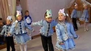 """Простой танец для старшей группы """"Минутки"""""""