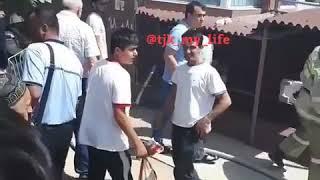 Бозори Душанбе пажар
