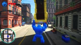 LEGO Marvel Superheroes - A-Bomb Unlocked + Free Roam Gameplay