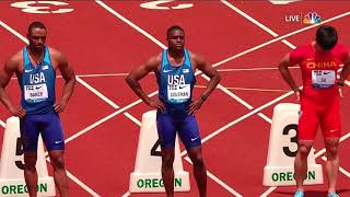 Prefontaine Classic 100m | Christian Coleman, Reece Prescod, Ronnie Baker and more