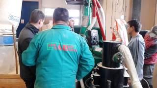 Pellet mill Kovo Novak and the Packing machine Ekomprof (Croatia)