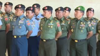Gambar cover Laporan Korps Kenaikan Pangkat 16 Perwira Tinggi TNI