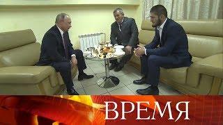 Здоровье, спорт и борьба с допингом - темы форума «Россия - спортивная держава» с участием В.Путина.