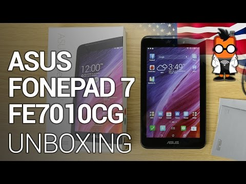 ASUS FonePad 7 2014 FE7010CG/FE170CG unboxing & hands on [ENGLISH]