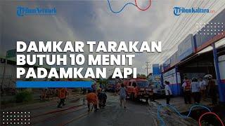 Kerahkan 7 Unit Armada, Damkar Tarakan Hanya Butuh 10 Menit Padamkan Kebakaran di Tempat Karaoke