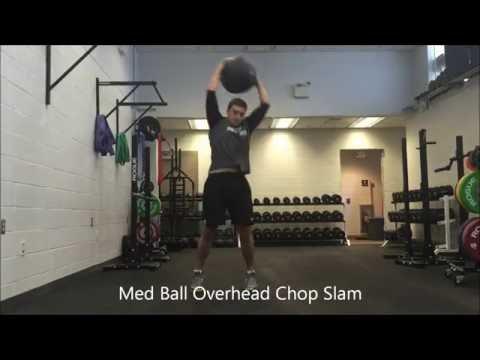 Resilient Performance PT - Med Ball Overhead Chop Slam