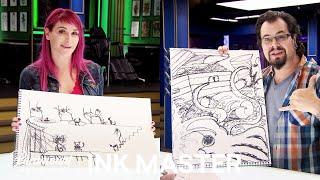 Story In 1 Line: Ink Box Challenge: Megan Jean Vs. James Vaughn | Ink Master