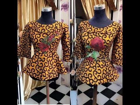 Ankara Fashion Styles Collection: Tops, Skirt and Blouse Ankara, (2018)