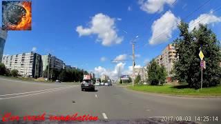 Аварии и ДТП за Август 2017 (18+) Car Crash Compilation №104