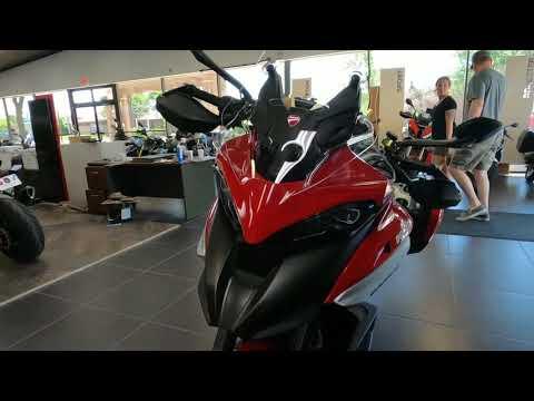 2021 Ducati Multistrada V4 S Travel & Radar Spoked Wheel in West Allis, Wisconsin - Video 1