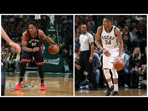 f62d5bc18823 DeMar DeRozan and Giannis Antetokounmpo Battle it out in an Intense Game 6!