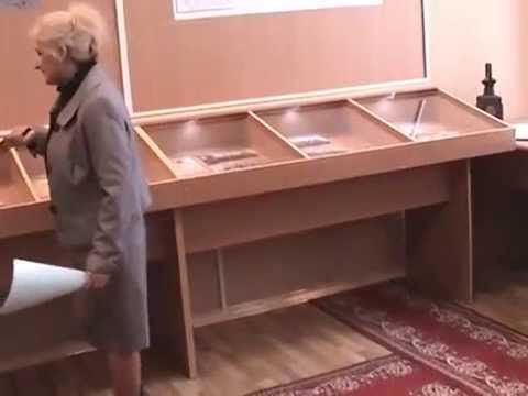 Открытие Музея боевой и трудовой славы Синельниковского железнодорожного Узла. 22.01.2014.
