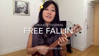Free Fallin - Tom Petty // Ukulele Tutorial