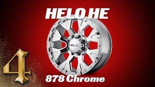 HELO HE878 Chrome Wheel