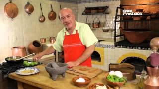 Tu cocina - Huevos encamisados con salsa verde asada