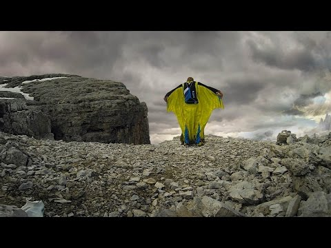 BASE Jumping Alone with Neil Amonson