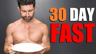 I Tried Fasting For 30 Days (SHOCKED at What Happened to My Body)