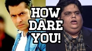 Angry Salman Khan THREATENS AIBS Tanmay Bhat  EXCLUSIVE STORY  SpotboyE