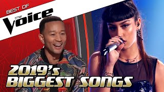 TOP 10 | 2019's BIGGEST HIT SONGS in The Voice