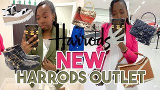 EXCLUSIVE FIRST LOOK At The NEW HARRODS OUTLET! | Luxury Shopping At Harrods! | Duchess Of Fashion