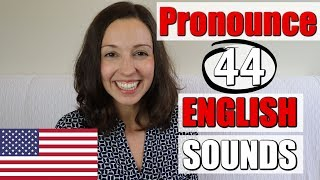 How to Pronounce ALL ENGLISH Sounds: American English Lesson