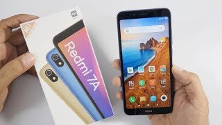 Redmi 7A Smartphone Unboxing & Overview