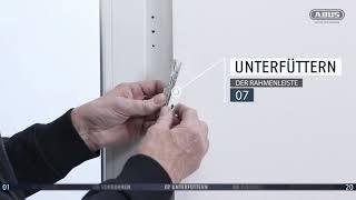 ABUS Montagevideo Fenster-Scharnierseitensicherung FAS101