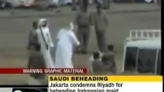 Beheading Of An Abused Maid In Saudi Arabia.