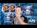 OPENING x25 LEGENDARY KINGS CHEST MAX RAM RIDER GEMMING PT 1 Clash Royale Chest Opening