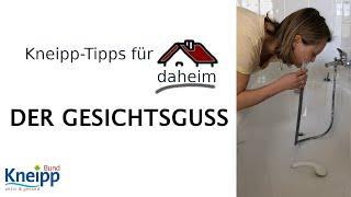 Video Der Gesichtsguss - Kneipp-Tipps für daheim Teil 2 abspielen