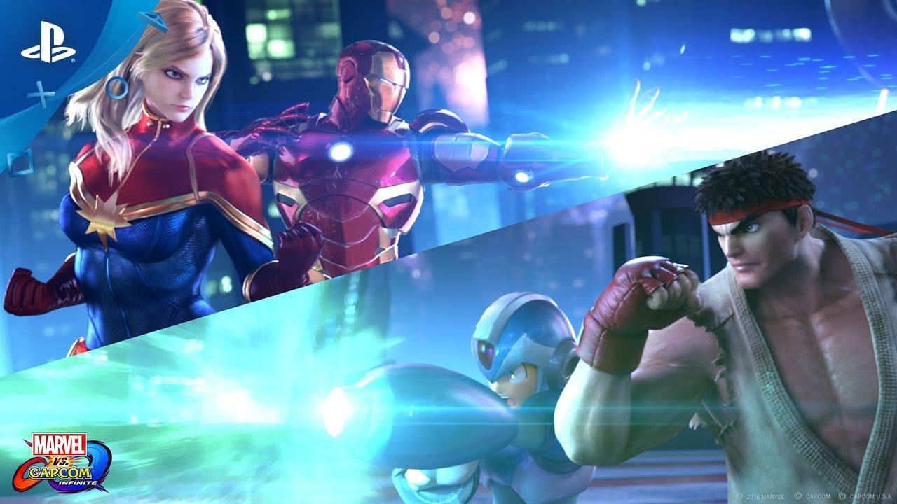 Marvel vs. Capcom: Infinite Hits PS4 in 2017 — 2v2 Battles, Infinity Stones, More