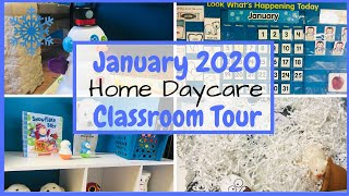 What Are We Doing This Month In My Home Daycare? | Toddler Lesson Plans | Classroom Tour January