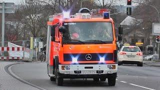 preview picture of video '[TH 1 PKW] TLF 16/25 Feuerwehr Siegburg (Ausfahrt + Ankunft Einsatzstelle in einem Video!) (HD)'