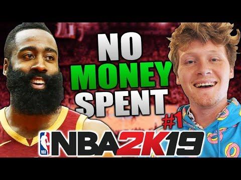 NO MONEY SPENT #1 NBA 2K19 MyTeam
