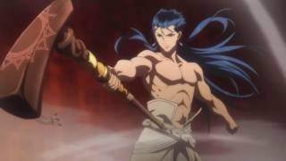 Cu Chulainn  - (Fate/Grand Order) - Fate Grand Order - First Order: Caster Cu Chulainn vs Alter Saber